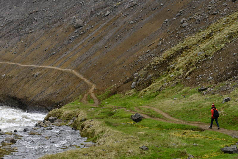 Trail from Hengifoss