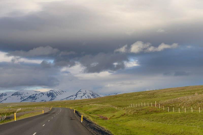 On the way to Vopnafjordur