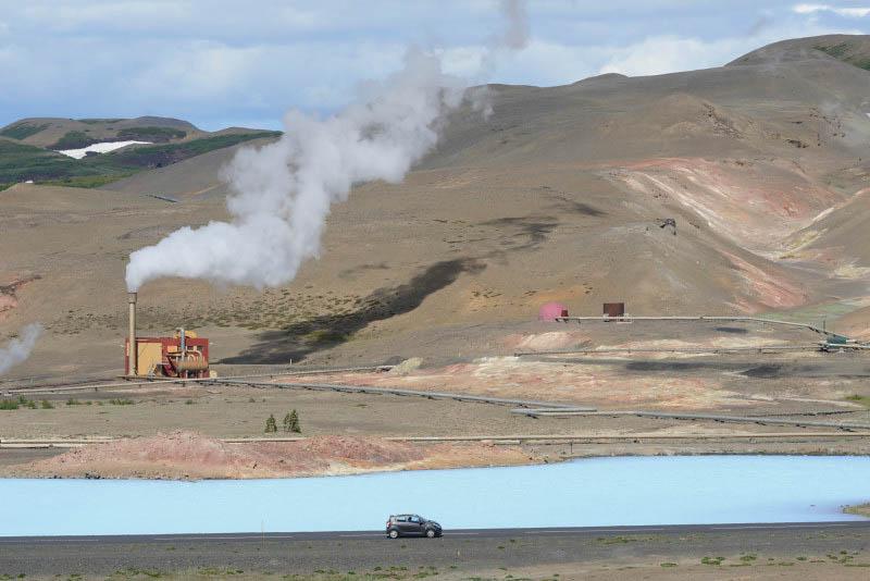 Near Mývatn Nature Baths
