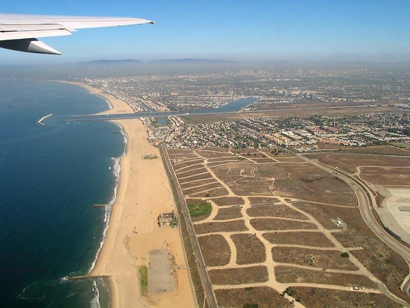 LOS ANGELES COAST NEAR LAX