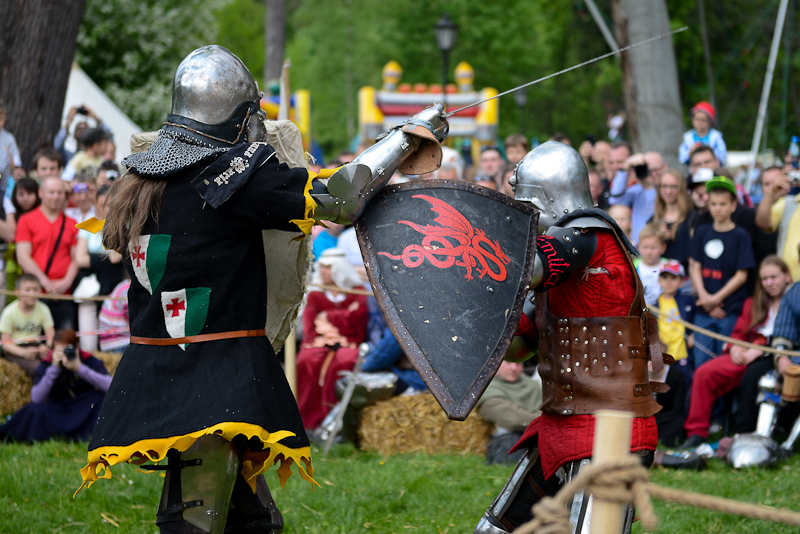 Knights Tournament in Kliczkow Castle
