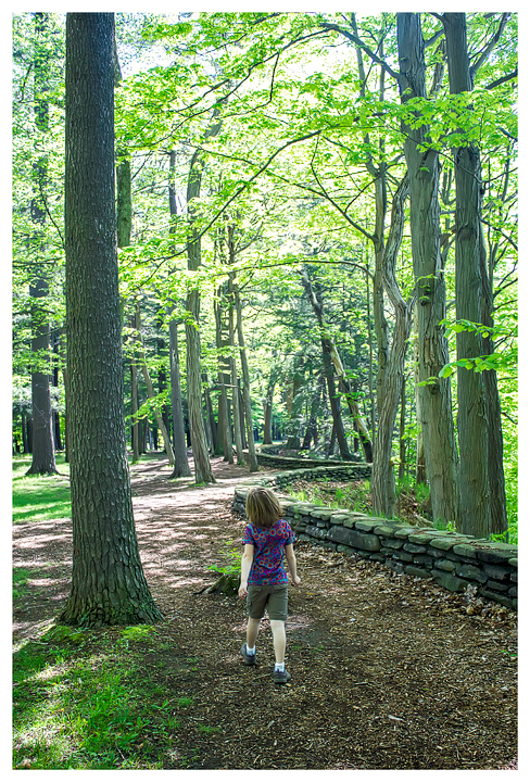 Norah on the Gorge Trail