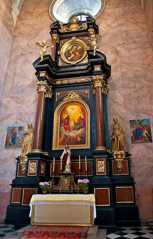 Right Side Altar