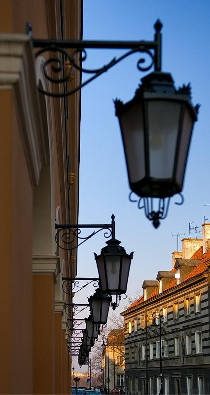Lamps In Perspective