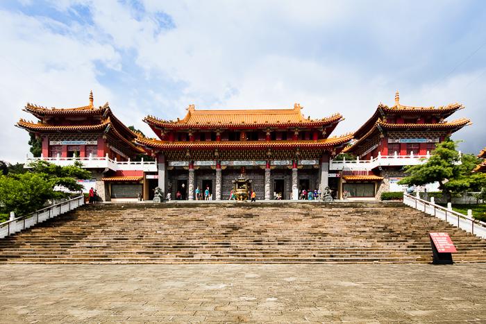 Wen Wu Temple of Sun Moon Lake
