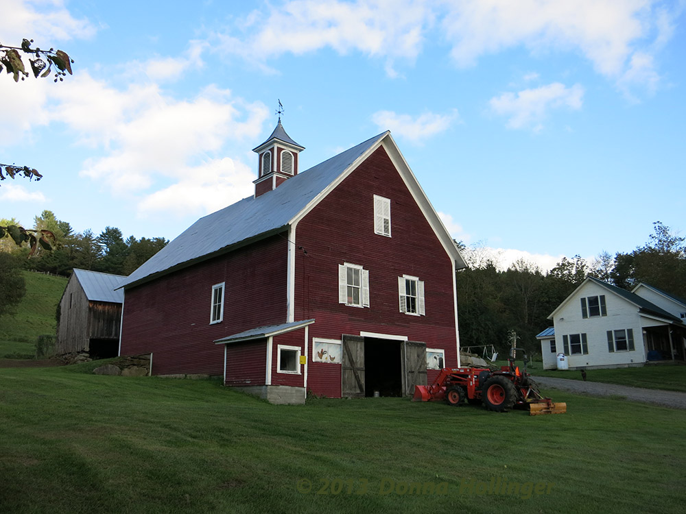 An Old Barn in  Strafford Village