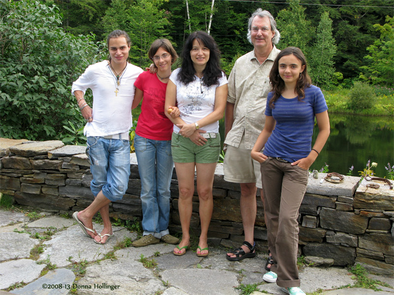 Tommaso, Anabelle, Isabelle, Peter and Amelia
