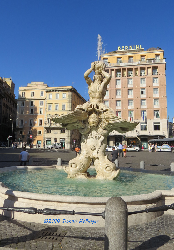 Berninis Tritone Fontana
