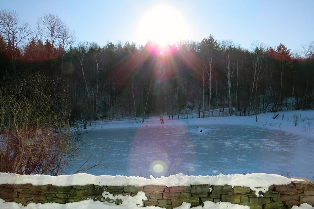 The Sun over Eccopond