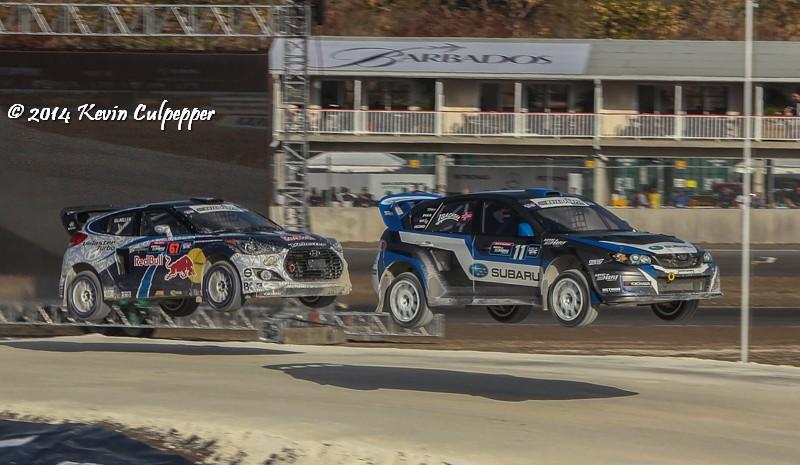 Sverre Isachsen and Rhys Millen