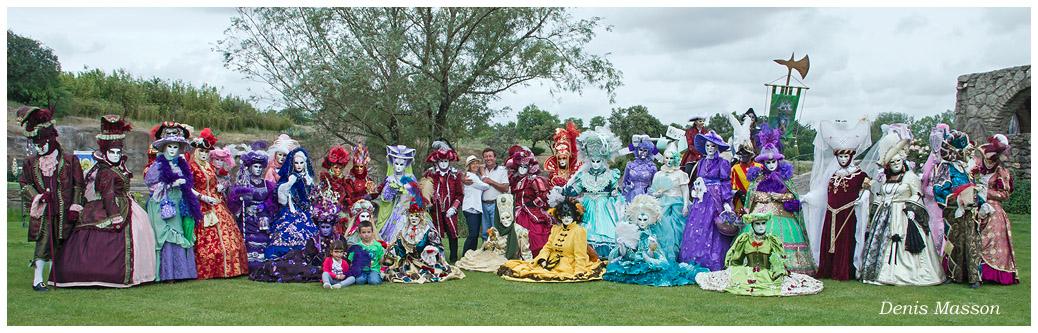 Carnaval de venise au jardin de st adrien en 2013 photo gallery by denis masson at - Jardin de saint adrien ...