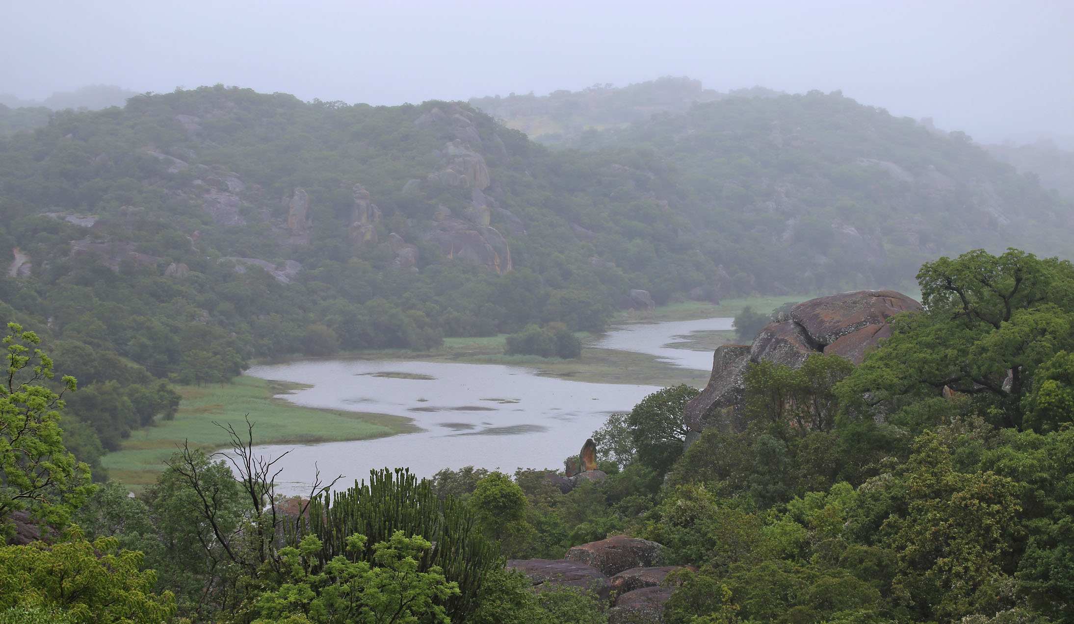 Maleme Dam, Matobo Hills, Zimbabwe