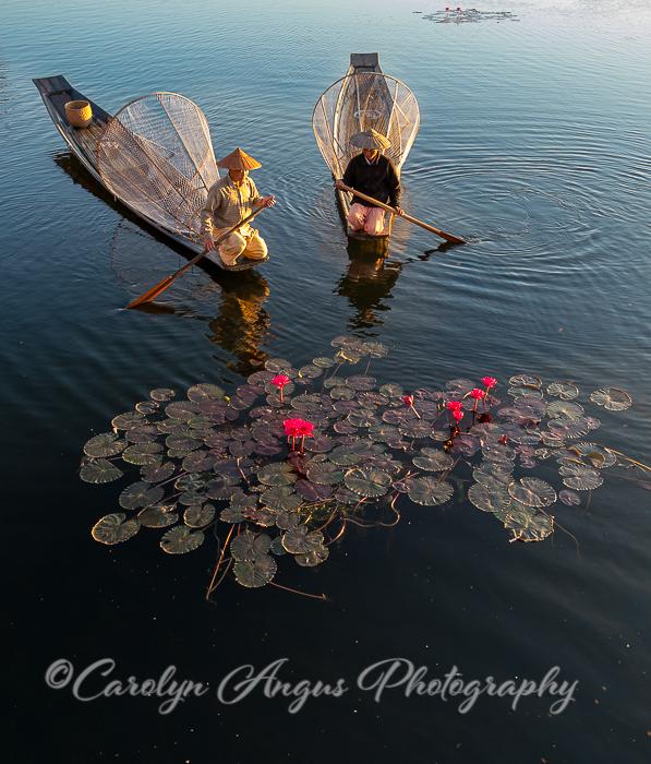 Inle Lake Fisherman at Dawn-2.jpg