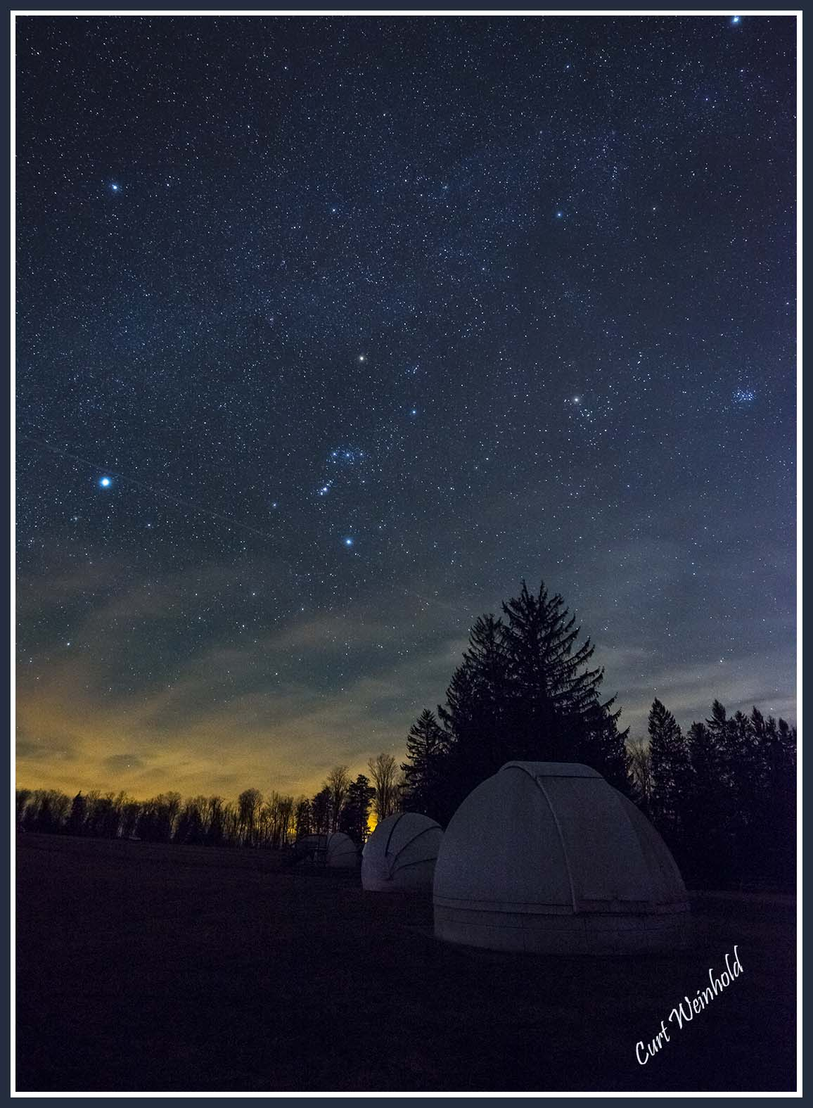 Astronomical Domes at Cherry Springs Dark Sky Park photo
