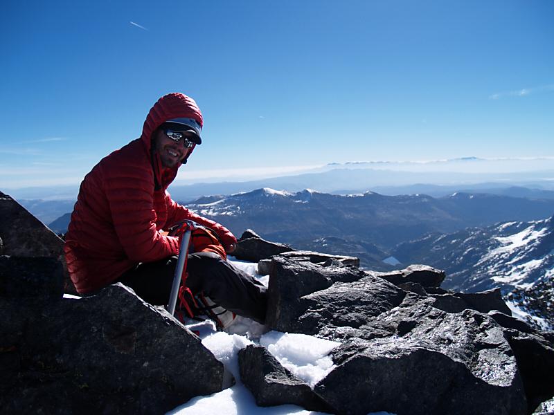 Summit of Mt Ritter (13143ft; 4006m)
