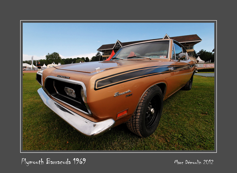 PLYMOUTH Barracuda 1969 Caen - France