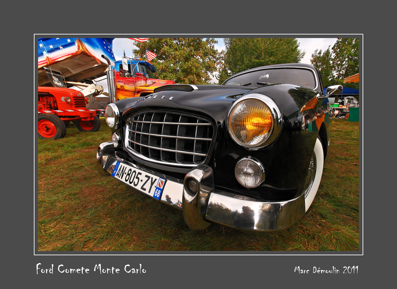 FORD Comete Monte-Carlo Nesles - France