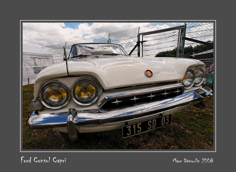 FORD Consul Capri Dijon - France