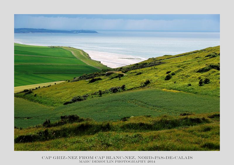 Nord-Pas-de-Calais, Cap gris-nez from cap blanc nez