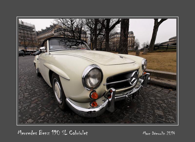MERCEDES-BENZ 190 SL Cabriolet Paris - France