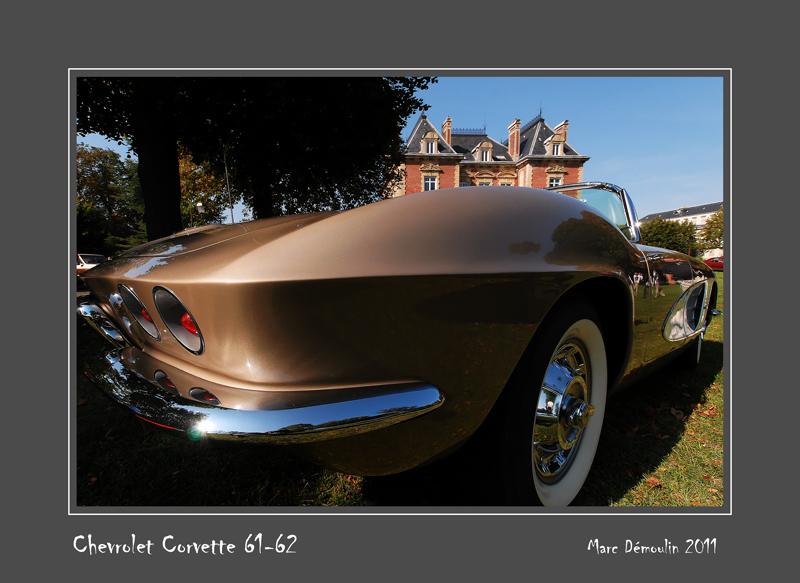 CHEVROLET Corvette 61-62 Ecquevilly - France