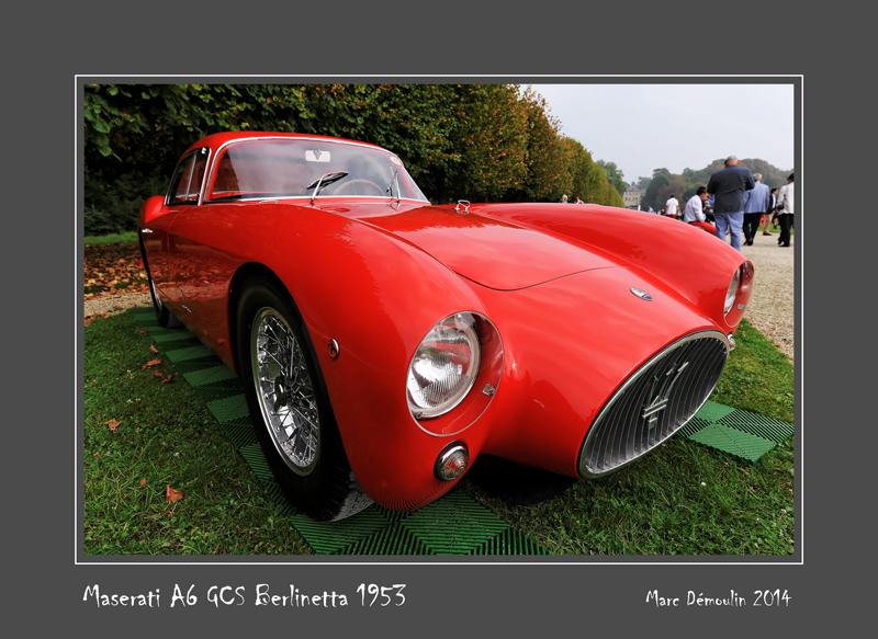 MASERATI A6 GCS Berlinetta 1953 Chantilly - France