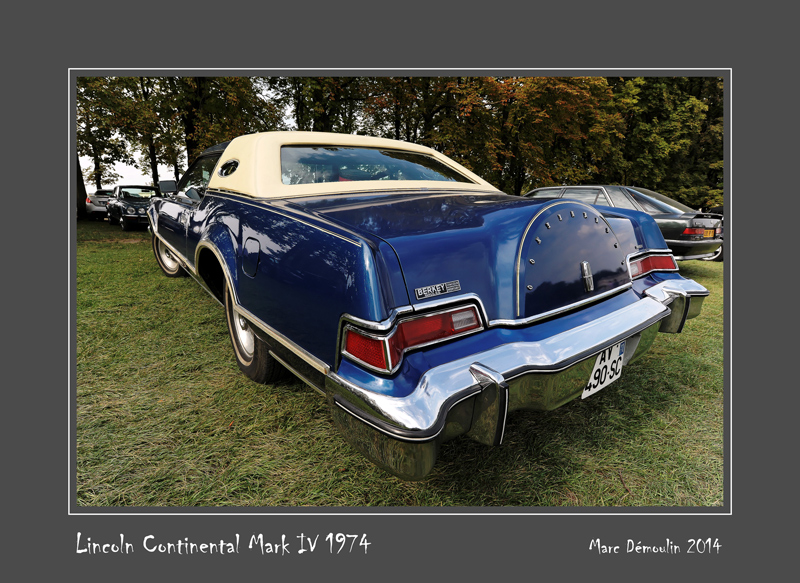 LINCOLN Continental Mark IV 1974 Chantilly - France