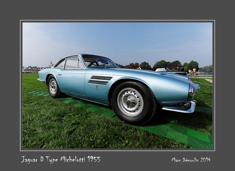 JAGUAR D Type Michelotti 1955 Chantilly - France