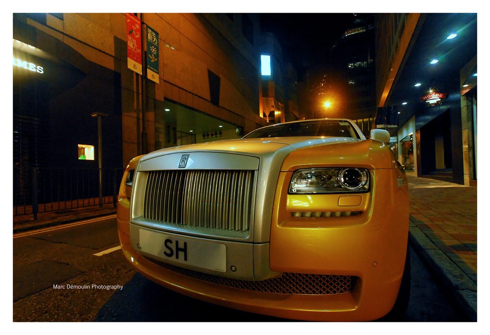 Rolls Royce Ghost, Hong-Kong 2011