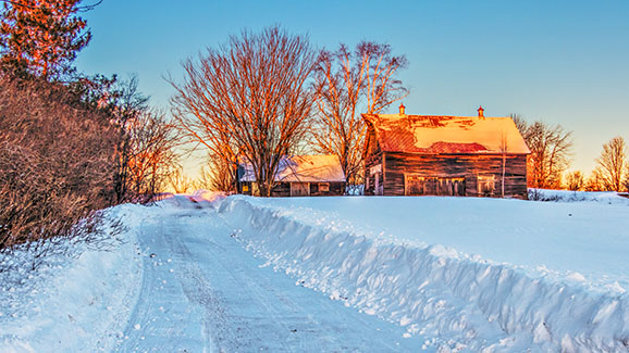 Miller Lane At Sunrise 20150216