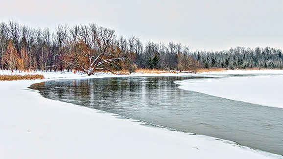 Rideau River In Winter 20150302