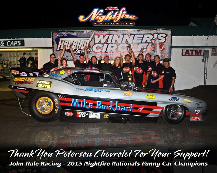 John Hale Racing Thank You Poster