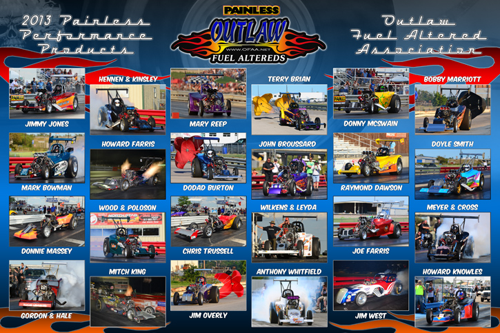 2013 Outlaw Fuel Altered Assoc.