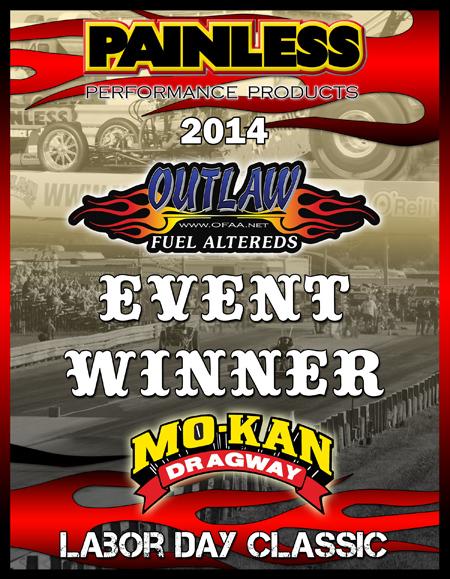 OFAA 2014 Event Winner Plaque