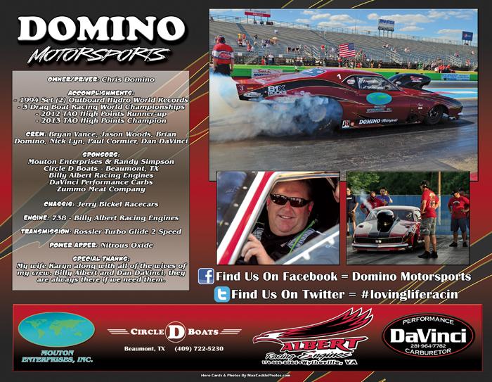 Chris Domino Auto Pro Mod