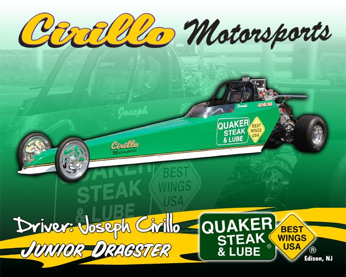 Cirillo Motorsports Junior Dragster