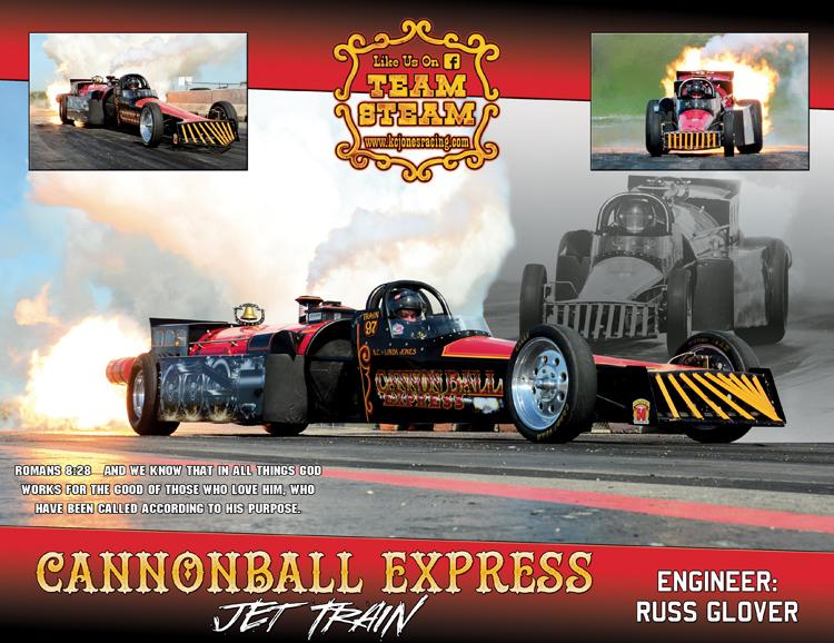 KC Jones Cannonball Express 2015