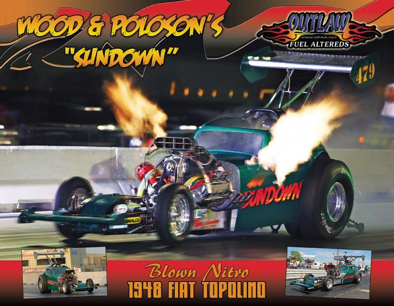 Wood & Poloson Outlaw Fuel Altered 2015