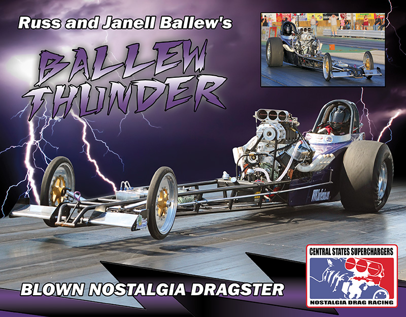 Russell Ballew Blown Dragster 2016