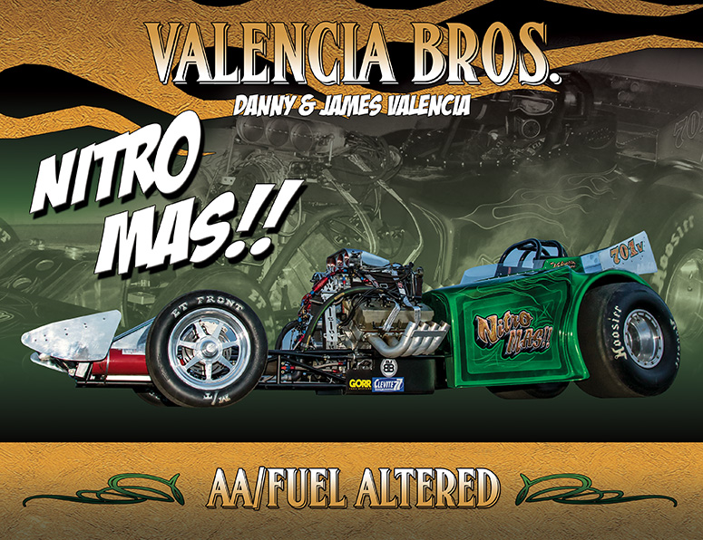 Valencia Brothers AA/Fuel Altered 2016