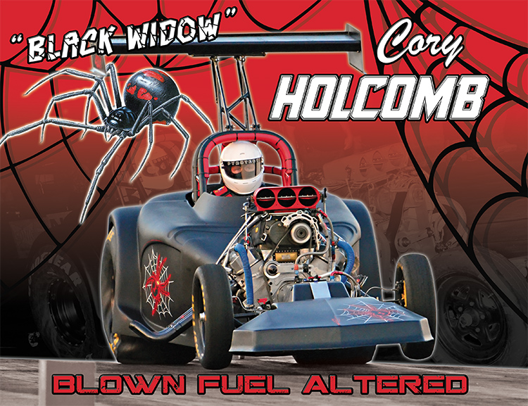 Cory Holcomb Black Widow 2016