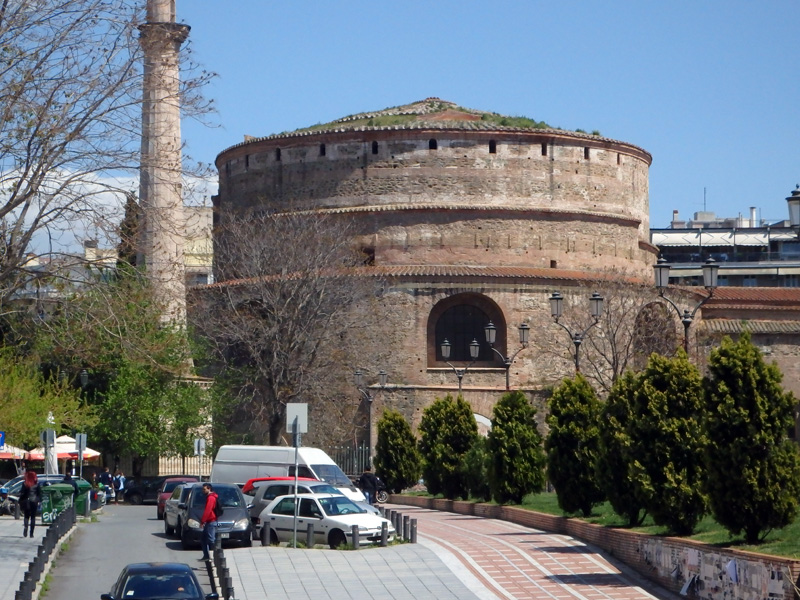 Thessalonika from the bus