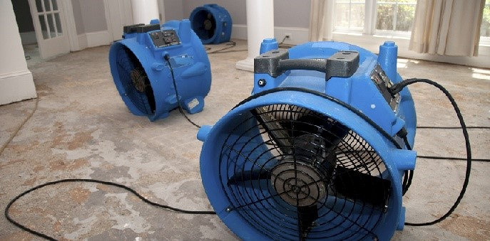 Commercial Air Blowers Used to Dry OUt Your Home