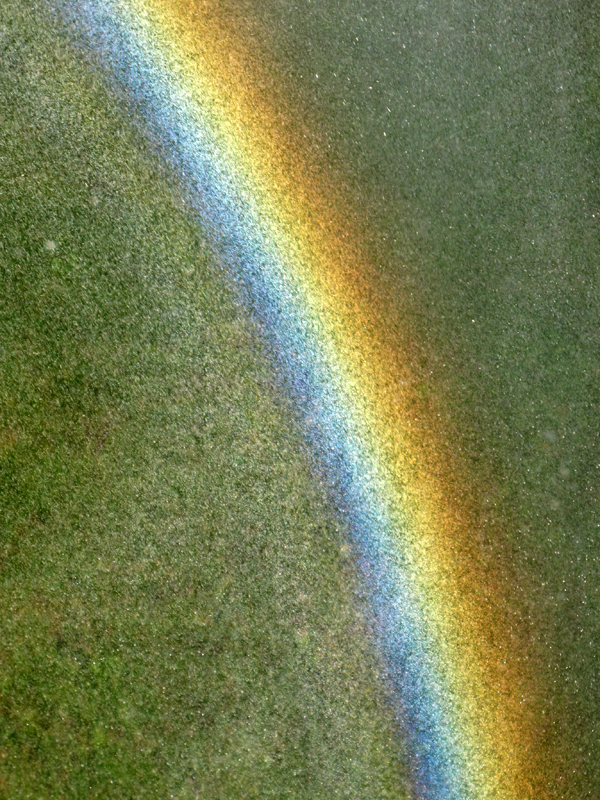 Home made rainbow...