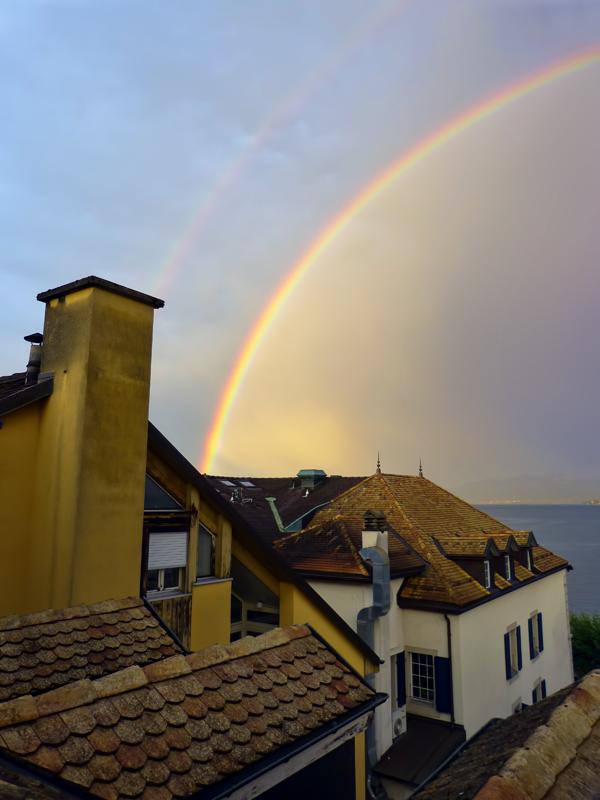 Summer rainbow ...