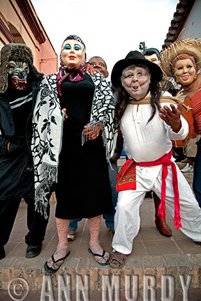 Group of Masked Participants