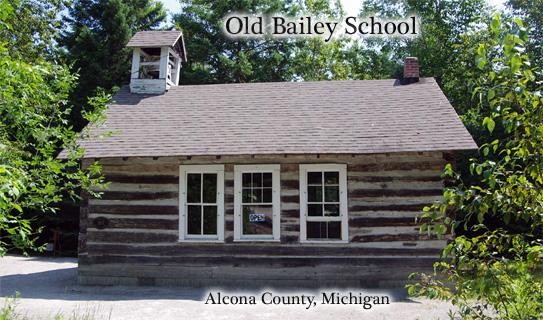 old Bailey School House side