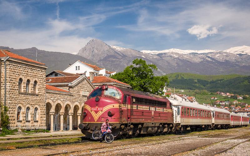 Peja Train Station