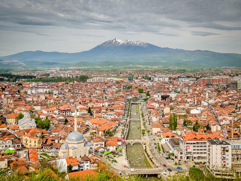 Prizren and Pashtrik Mountain