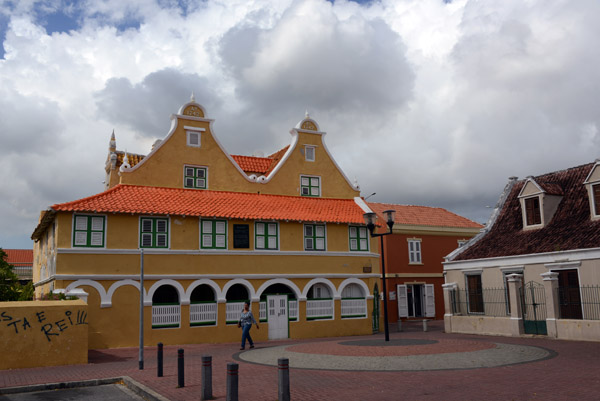 Much of the old Dutch colonial architecture has been restored and preserved in this UNESCO World Heritage Site